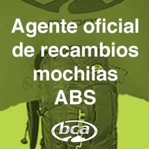 Agente oficial BCA, recambios para mochilas ABS anti-avalanchas