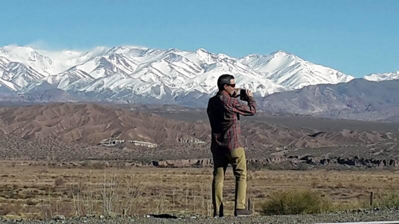 Cordillera de Los Andes, Mendoza, Argentina