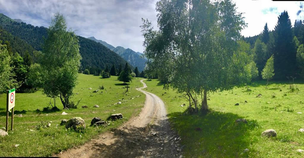 Paseo en ebike por Montgarri.Val d'Aran