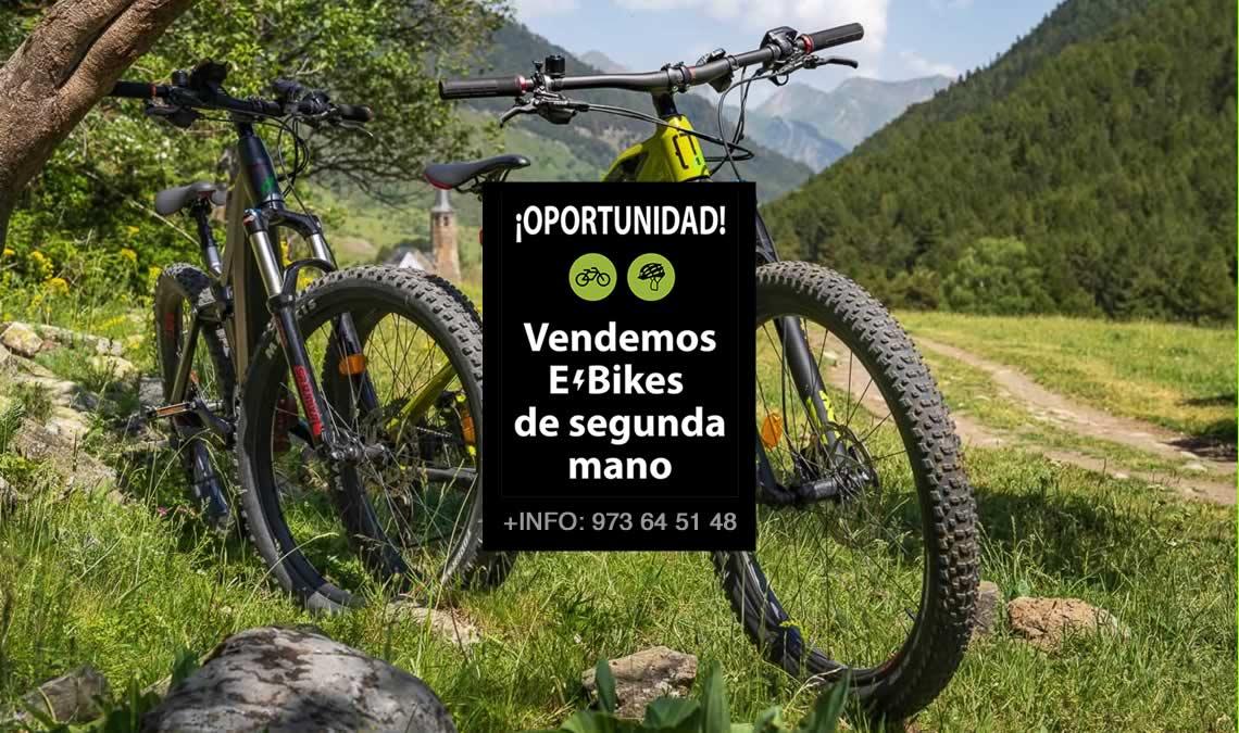 Venta ebike (bicicletas eléctricas) de segunda mano en Val d'Aran. Baqueira